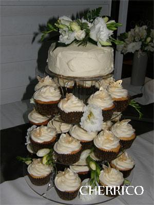 Round Step Cupcake Stand