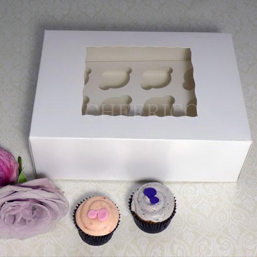 12 Window MIni Cupcake Box ($1.80/pc x 25 units)