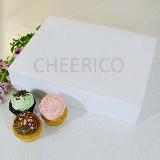12 Cupcake Box with Finger hole($2.50/pc x 25 units)