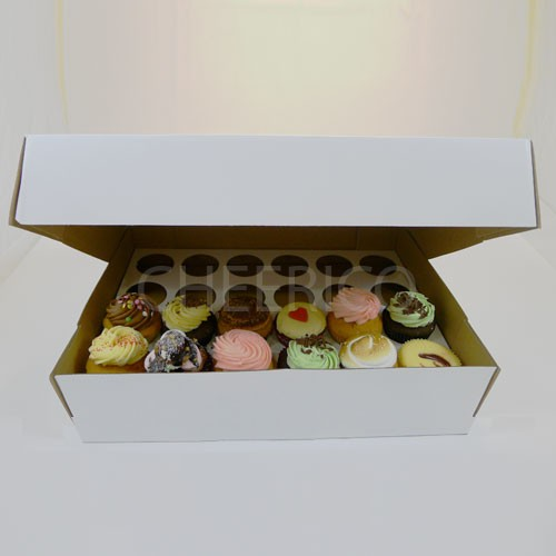 24 Hole Cupcake Cardboard Box($3.90/pc x 25 units)