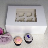 12 Window MIni Cupcake Box ($1.90/pc x 25 units)