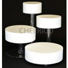 4 Tier Cascading Wedding Acrylic Cake Stands