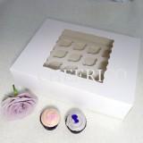 24 Window MIni Cupcake Box ($3.10/pc x 25 units) with 4cm hole