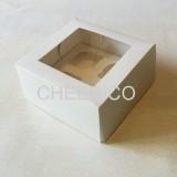 4 Cupcake Window Box ( $1.60/pc x 25 units)