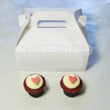 4 Cupcake Box with Handle( $1.50/pc x 25 units)